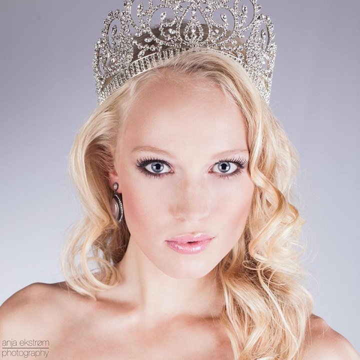 Josefine Mikuta Poulsen Miss Denmark Earth 2013 photo